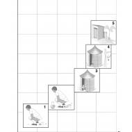 DD447b Sanitation ladder cost versus safety (Artist: Chatterton, Ken)