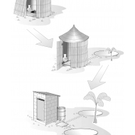 DD4D0-2 Sanitation ladder (Artist: Chatterton, Ken)