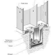 EMS 07 Shallow latrine (Artist: Chatterton, Ken)