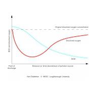 059 The dissolved oxygen sag curve (Artist: Chatterton, Ken)