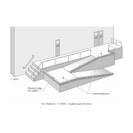 DP2-18b Ramp and steps to building (Artist: Chatterton, Ken)