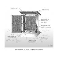 21 Low-cost latrine superstructure (Artist: Chatterton, Ken)