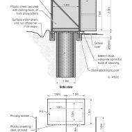 28 Double-unit pit latrine (Artist: Chatterton, Ken)