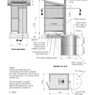 33 VIP latrine technical dimensions (Artist: Chatterton, Ken)