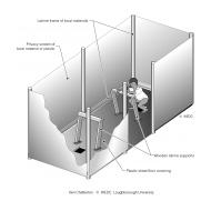 A pit latrine for children ES-DL 04 (Artist: Chatterton, Ken)