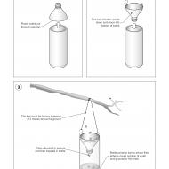 Fly trap using bait ES-DL 43 (Artist: Chatterton, Ken)