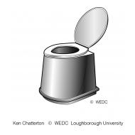 Plastic prefabricated pedestal 5 ES DL 09 (Artist: Chatterton, Ken)