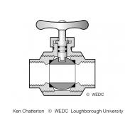 9-3C Ball valve (Artist: Chatterton, Ken)