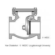 9-3G Non-return valve (Artist: Chatterton, Ken)