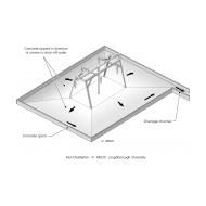 9-9 Simple concrete standpost apron (Artist: Chatterton, Ken)