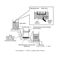 Slow sand filter with flow control (Artist: Chatterton, Ken)