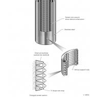 02-03 Borehole screen and soil matrix (Artist: Chatterton, Ken)
