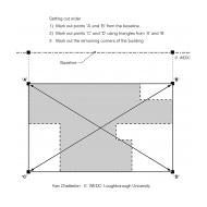 03-25 Setting out a building (Artist: Chatterton, Ken)