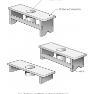 04-28 Toilet stools of different heights (Artist: Chatterton, Ken)