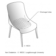 04-29 Bathing chair plastic or wood with drainage holes (Artist: Chatterton, Ken)