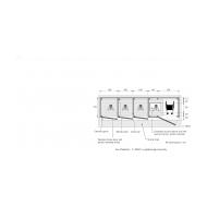 04-30 Oxfam plan four unit latrine blocks with 100x120cm slabs (Artist: Chatterton, Ken)