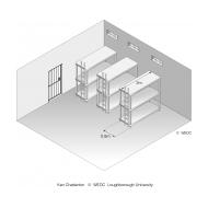 07-02 Bunk beds conforming to minimum standards of sleeping space (Artist: Chatterton, Ken)