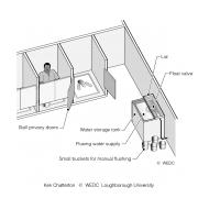 07-07 Latrines with manual flusing facilities (Artist: Chatterton, Ken)