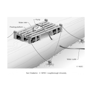 08-12 Surface water intake mounted on floating platform (Artist: Chatterton, Ken)