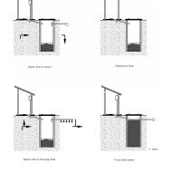 LC 50705 Upgrading pour-flush latrines (Artist: Chatterton, Ken)