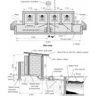 Institutional latrine design (Artist: Chatterton, Ken)