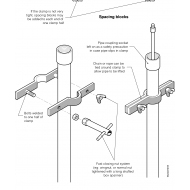 WLC0721B Bolted clamping system for rising mains (Artist: Chatterton, Ken)