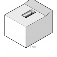Concrete seat (Artist: Chatterton, Ken)