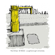 Durable stone at the collection point - colour (Artist: Shaw, Rod)