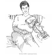 Giving blood (Artist: Shaw, Rod)