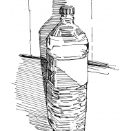 Bottle of water (Artist: Shaw, Rod)