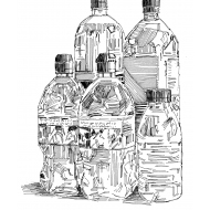 Bottles of water (Artist: Shaw, Rod)