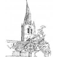 Church spire deformed (Artist: Shaw, Rod)
