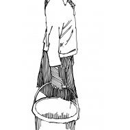Girl carrying a bucket 2 (Artist: Shaw, Rod)