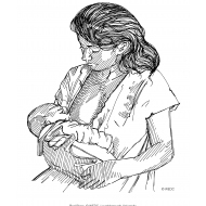 Breastfeeding (Artist: Shaw, Rod)