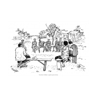 Community focus group meeting (Artist: Shaw, Rod)