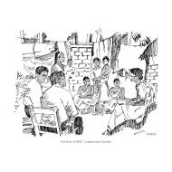 Community meeting in a yard (Artist: Shaw, Rod)