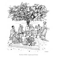 Community meeting under a tree v1 (Artist: Shaw, Rod)