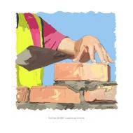 Cement mortar - colour (Artist: Shaw, Rod)