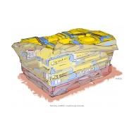 Pile of cement bags - colour (Artist: Shaw, Rod)