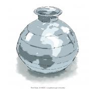 Metal water pot - colour (Artist: Shaw, Rod)