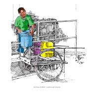 Water cart - colour (Artist: Shaw, Rod)