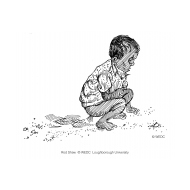 Child with diarrhoea (Artist: Shaw, Rod)