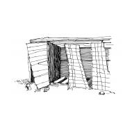 Emergency latrines (Artist: Shaw, Rod)