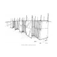 Emergency toilets in Kalma camp (Artist: Shaw, Rod)