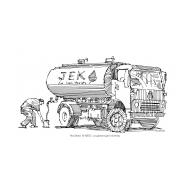JEK water tanker (Artist: Shaw, Rod)