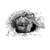 Prefabricated well lining (Artist: Shaw, Rod)