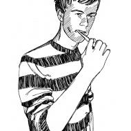 Brushing teeth (Artist: Shaw, Rod)