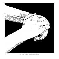 Handwashing with black background 2 (Artist: Shaw, Rod)
