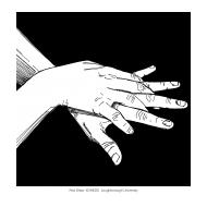 Handwashing with black background 3 (Artist: Shaw, Rod)