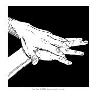 Handwashing with black background 4 (Artist: Shaw, Rod)